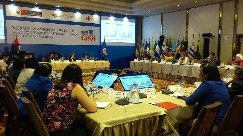 XXXVII Delegates Assembly of Women Interamerican Commission